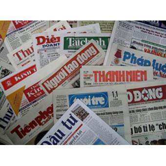 Bảng giá quảng cáo Báo giấy