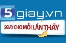 Bảng giá quảng cáo 5giay.vn. >>